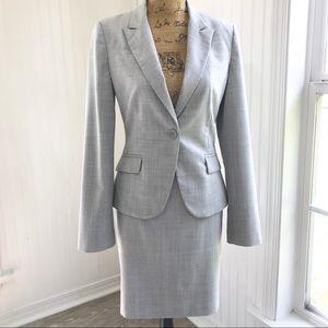 Express 2 Piece Pencil Skirt & Blazer Suit Sz 6